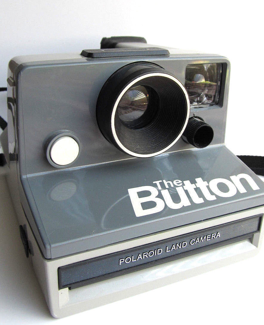 Primary image for Vintage camera Polaroid 'The Button' instant camera