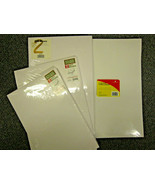 Lot of 9 - White Gift Boxes for Shirts, Pants, Large Garments, 3 sizes, New - $4.76