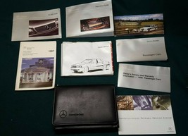 1998 Mercedes-Benz C23CW Owner Owner's Manual & Supplemental Documents &  Case - $17.46