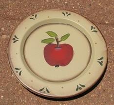 Wood Plate   RPS1 - Apple  - $3.50