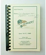 Progress in Hepatic Biliary Pancreatic Surgery 1989 University of Minnesota - $100.00