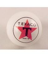 Texaco Star Gas Gasoline Logo Marble White Glass New - $7.95