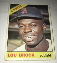 Lou Brock 1966 Topps 128 - $3.99