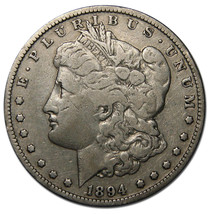 1894 MORGAN SILVER ONE DOLLAR Coin Lot # A 1253