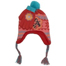 NEW Girls Disney Elena of Avalor Fleece Lined Hat with Gloves Ear Covers - $9.99