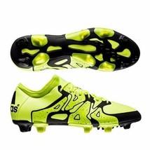 adidas X 15.1 FG/AG Mens Soccer Cleats - Solar Yellow/Black B32782 Sz 12 - $33.65