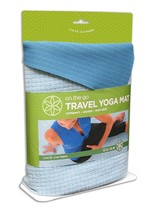 GAIAM TRAVEL YOGA MAT, BLUE Model: 05-52857 - $9.90