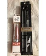 ELF Pump It Up Mascara Black Srsly Satin Lipstick Nectar  - $9.95