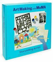Art Making with MoMA Storytelling Art Kit Stencils Paint Brushes Jacob Lawrence image 3
