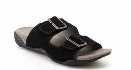 J Sport  Jambu Women's Carina Suede Slip on Sandals  Black  Sz 6.5 - $24.79