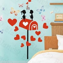 Mail Lover - X-Large Wall Decals Stickers Appliques Home Decor - $10.87