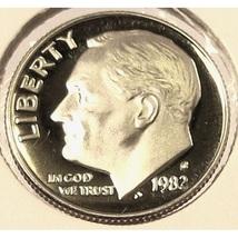 1982-S Proof Roosevelt Dime DCAM PF65 #0185 - $1.99