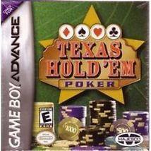 Golden Nugget Casino & Texas Hold'em Poker Nintendo Game Boy Advance NEW - $7.99