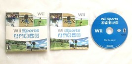 ⭐ Wii Sports (Nintendo Wii 2006) COMPLETE in Sleeve Manual Game Disc Wor... - $24.99