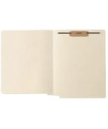 NEW Box of 200+ Medical Arts Press File Folders 1-Fastener Letter Manill... - $56.90