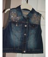 Earl Jean Child's Denim Vest Size M - $14.95