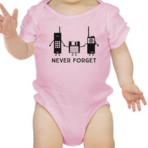 Never Forget Baby Pink Bodysuit - $13.99