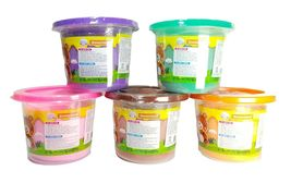 Donerland Honey Clay 5 Colors Set 200g 0.4lbs Green, Orange, Pink, Purple, Brown image 6