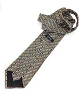 NEW BARNEYS NEW YORK TIE Geometric Silk Men's Neck Tie Made in Italy - $16.95