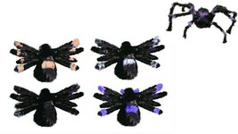 """POSABLE Hairy Spider 30"""" by Fun World 9897ACE (1 UNIT) Assorted Colors - $9.89"""
