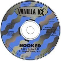 VANILLA ICE - HOOKED U.S. PROMO CD-SINGLE 1991 2 TRACKS RARE HTF COLLECT... - $22.95