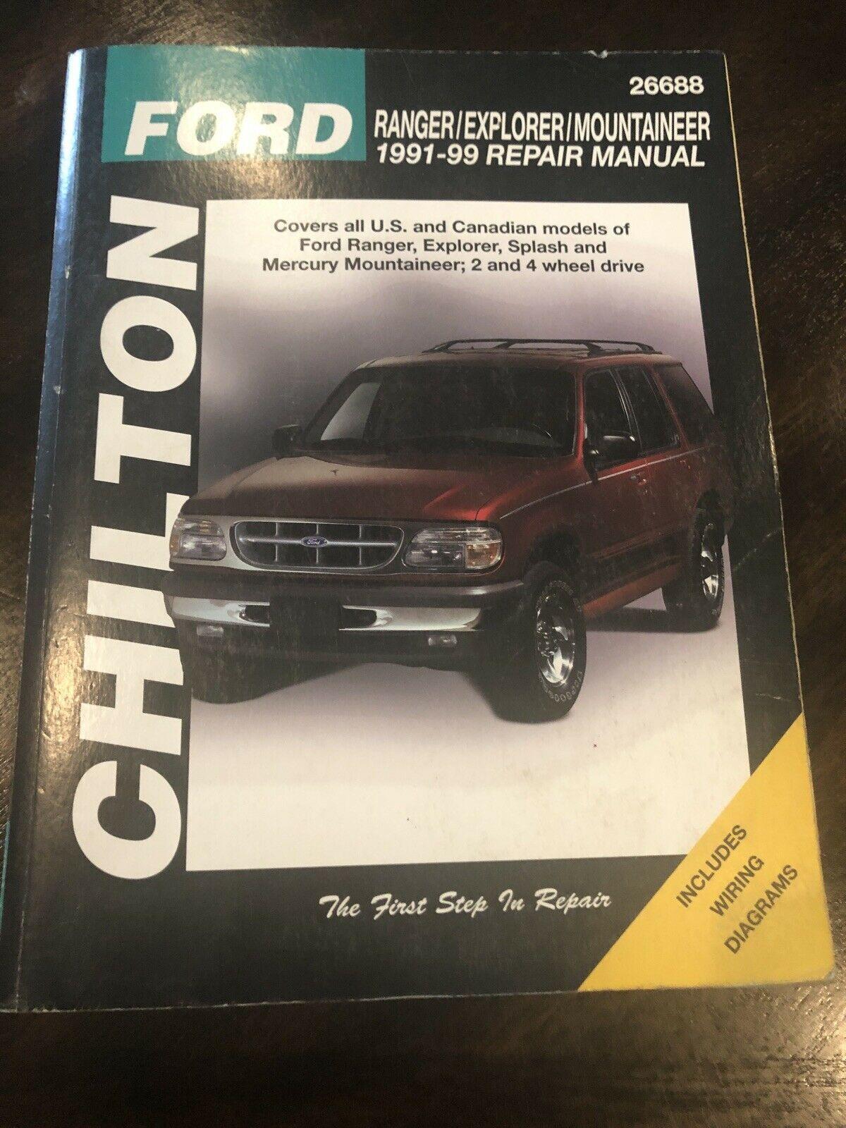 Chilton Repair Manual 1991-1999 Ford Ranger and 36 similar items | Wiring Diagram For 1999 Ford Ranger Pick Up |  | Bonanza