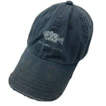 Bass Pro Shops Fishing Fish Black Adjustable Adult Ball Cap Hat - $12.86