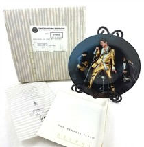 Bradford Exchange Elvis Presley Collector Plate The Memphis Flash COA 1989 - £19.03 GBP