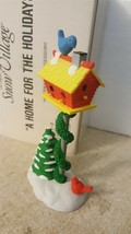 Dept 56 Snow Village Accessory 1990 A HOME FOR THE HOLIDAYS Mailbox 51659  - $9.00