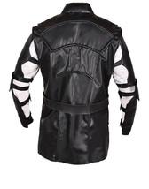 Hawkeye Avengers Endgame Clint Barton Costume Jeremy Renner Black Leather Jacket image 3