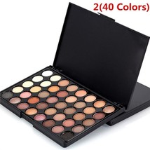 40 Colors Eye Shadow Pearly Lustre Makeup Palette Combination Cosmetic P... - $7.99