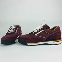 Rockport Men's Prowalker 7100 LTD Walking Sneakers Burgundy Size 8.5 M  NEW - $58.91