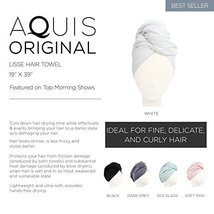 Aquis - Original Hair Towel, Ultra Absorbent & Fast Drying Microfiber Towel For  image 3