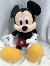 "Mickey Mouse Plush Disney Store Authentic Doll Medium 24"" - $24.74"
