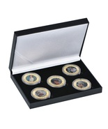 Princess Diana coins in holder  Free shipping - £26.59 GBP