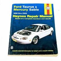 Haynes Automotive Repair Manual Book 36075 1996-2005 Ford Taurus Mercury Sable - $10.79
