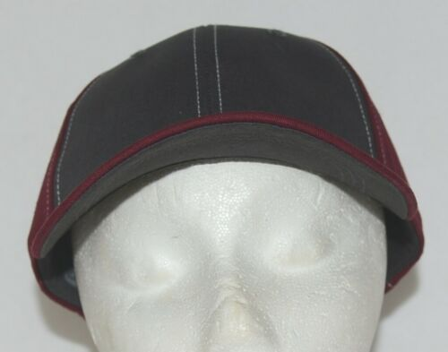 Richardson Contrast Stitching Maroon Charcoal Style 275 Baseball Hat Adjustable