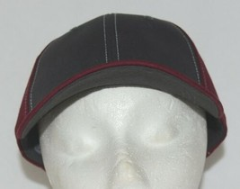 Richardson Contrast Stitching Maroon Charcoal Style 275 Baseball Hat Adjustable image 1