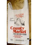 Groundhog Plaza Punxsutawney Plastic Grocery Bag Big Bag TLC Wexford VTG... - $29.65