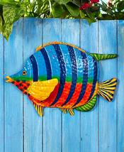 Tropical metal fish sculpture - $18.73