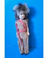 Davy Crockett Doll Disney Wild Frontier RARE Vtg Mid Century 50s Brownie... - $103.90