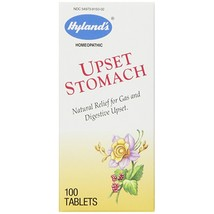 Hyland's Upset Stomach Tablets, Natural Relief of Gas and Digestive Upse... - $12.99