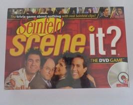 NEW Seinfeld SCENE IT? DVD Board Game Mattel 2008 TV Show Comedy Laugh Fun - $14.50