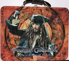 Pirates of the Caribbean On Stranger Tides Collectible Tin LunchBox - $10.95