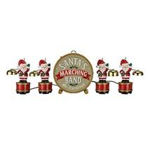 Mr. Christmas Santa's Marching Band Musical Figurines - 35 Christmas Car... - $125.17