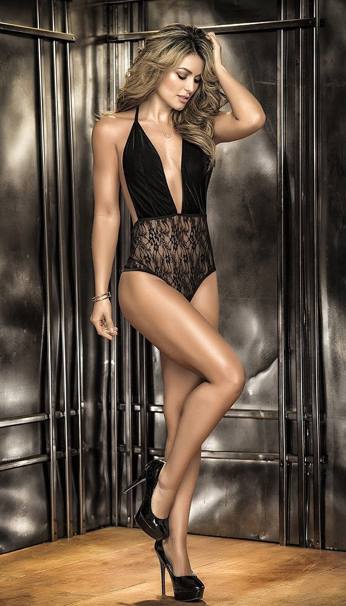 5f3306666b10 Mapale Black Velvet   Floral Lace Teddy and 50 similar items. S l1600