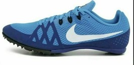 Nike Zoom Rival M Racing Multi-Use Shoes Blue w/o spikes 806555-414 Size 11 - $29.65
