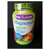 Vitafusion Magnesium 165mg Gummies 60ct each Tropical Citrus EXP 2022 - $64.95