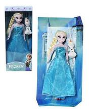 New 2pcs 30CM Disney Elsa & Flair & Princess Olaf Christmas Playset Figu... - $15.99