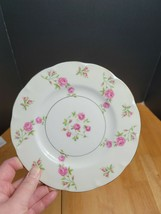 Theodore Haviland Delaware Salad Plate White with Pink Flowers USA (1) - $4.94